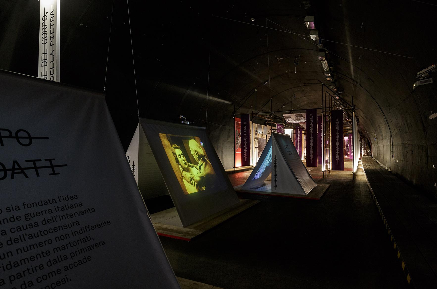 Le Gallerie 2017, L'ultimo anno di guerra, mostra